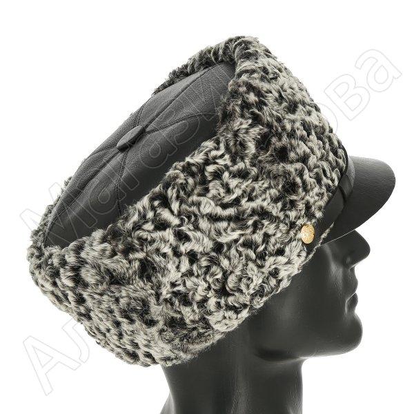 Офицерская шапка из каракуля (антика)