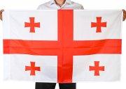 Государственный флаг Грузии (70x105 см) арт.12059