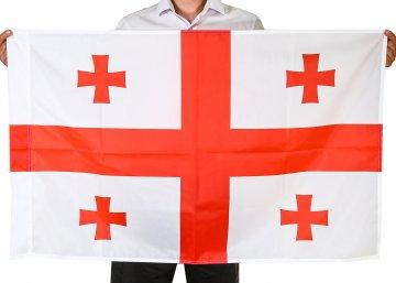 Государственный флаг Грузии (70x105 см)