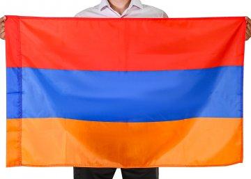 Государственный флаг Армении (70x105 см)