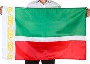 Флаг Чеченской Республики (70x105 см) арт.12061