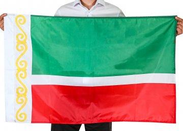 Флаг Чеченской Республики (70x105 см)