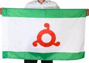 Флаг Республики Ингушетия (70x105 см) арт.12064