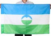 Флаг Кабардино-Балкарской Республики (70x105 см) арт.12065