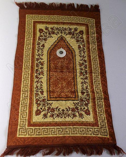 Молитвенный коврик дорожный с компасом №2