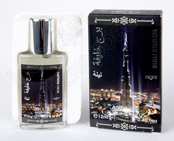 """Мужские масляные духи """"Burj Khalifa"""" коллекции """"Artis"""""""