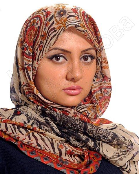 """Арабский шифоновый палантин премиум качества """"Женское обаяние"""""""