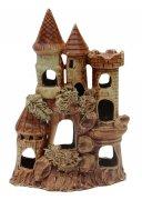 """Подарочная статуэтка ручной работы """"Ингушский замок"""" обожженная глина"""