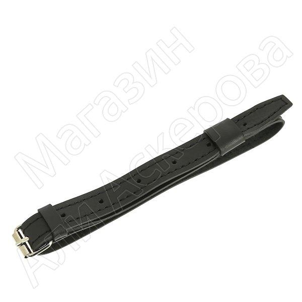 Нож пластунский сталь 95Х18 (мельхиор с резьбой, в наборе - подвес и чехол) арт.4861