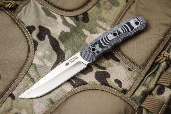 Нож Echo Kizlyar Supreme (сталь AUS-8 SW, рукоять G10)