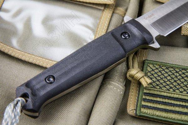 Тактический нож Trident (сталь D2 Satin, рукоять кратон)