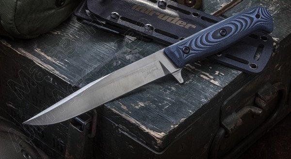 Тактический нож Intruder (сталь D2 S, рукоять микарта)