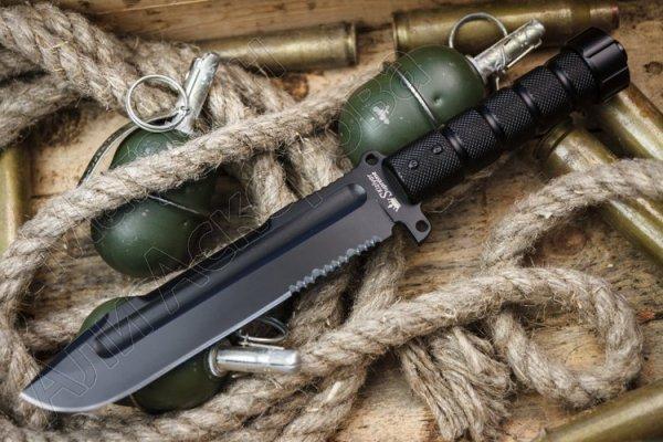 Нож для выживания Survivalist Z Kizlyar Supreme (сталь AUS-8, рукоять дюралюминий)