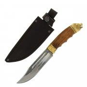Разделочный нож Медведь (сталь Х12МФ, рукоять дерево) арт.5068