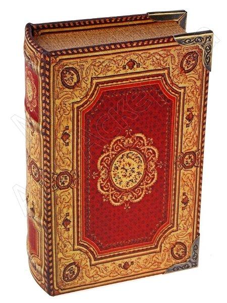 """Подарочная книга-шкатулка """"Цветочный ковёр"""""""