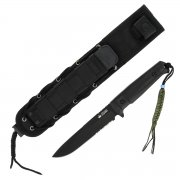 Тактический нож Alpha Kizlyar Supreme (сталь D2 BT Serrated, рукоять кратон) арт.4226