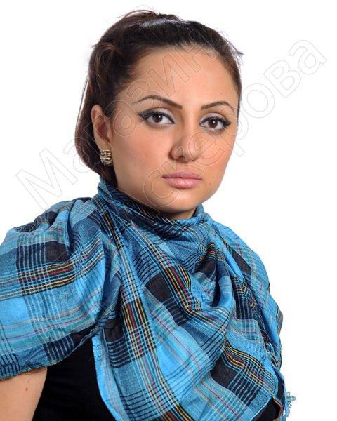 """Стильная арабская куфия """"Шам"""" с кистями"""