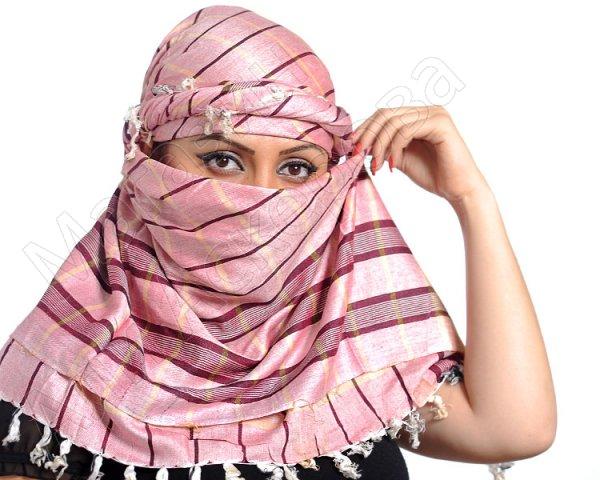 """Стильная арабская арафатка (куфия) """"Захраб"""" премиум качества из натурального хлопка"""