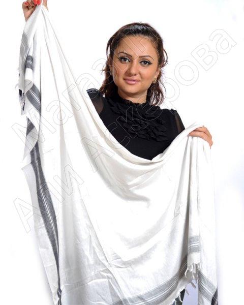 """Стильная арабская арафатка (куфия) премиум качества """"Аклык"""" из натурального хлопка"""