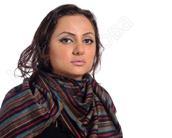 """Стильная арабская куфия """"Караваны пустыни"""" с кистями"""