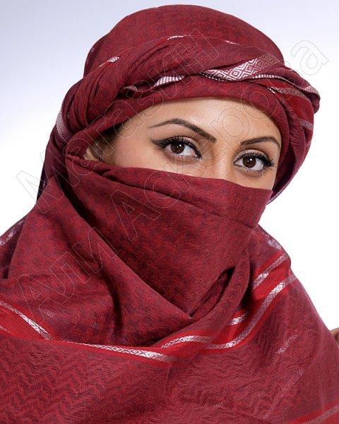 """Стильная арабская арафатка (куфия) премиум качества """"Хаджи"""""""