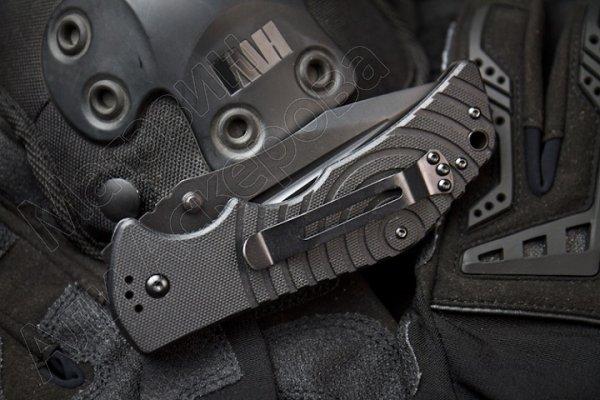Складной нож Bloke Z (сталь 440C Black, рукоять G10)