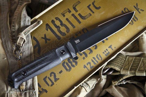 Тактический нож Delta Kizlyar Supreme (сталь AUS-8 BT, рукоять кратон)