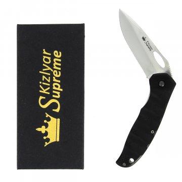 Складной нож Hero (сталь 440C Satin, рукоять микарта)