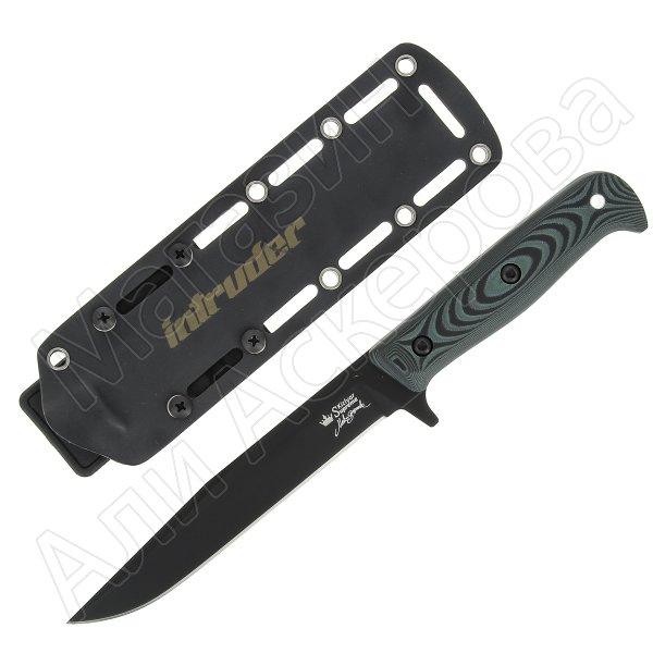 Нож Intruder (сталь D2 BT, рукоять микарта)