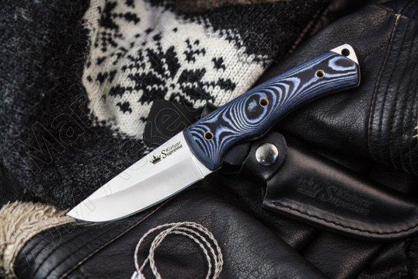 Нож Kid Kizlyar Supreme (сталь 440C Satin, рукоять микарта)
