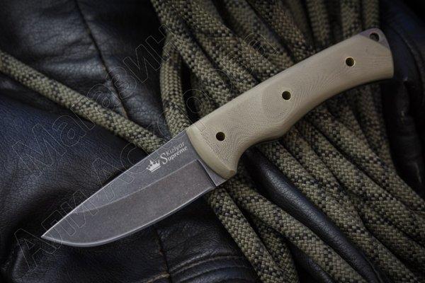 Нож Kid Kizlyar Supreme (сталь 440C SW, рукоять G10)