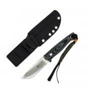 """Туристический нож """"Nikki"""" (сталь - D2 Satin, рукоять - микарта) арт.4318"""