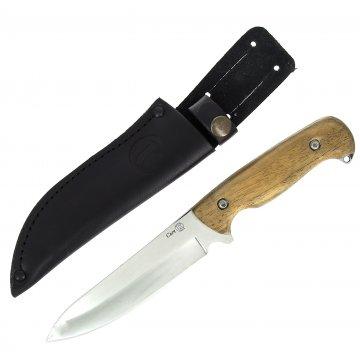 Кизлярский нож разделочный Сыч (сталь AUS-8, рукоять дерево)