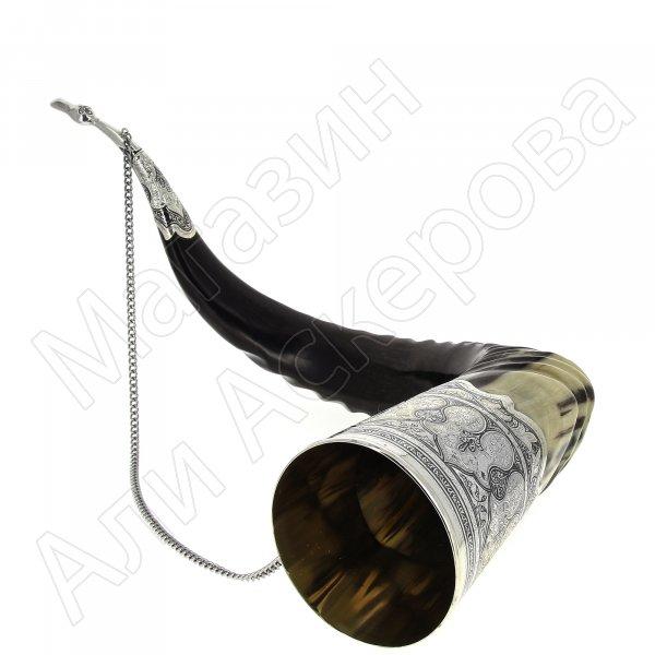 Элитный серебряный рог кавказского тура