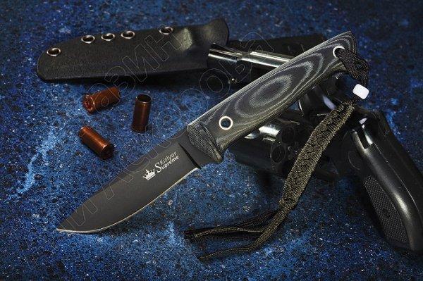 Нож Santi Kizlyar Supreme (сталь AUS-8 BT, рукоять микарта)