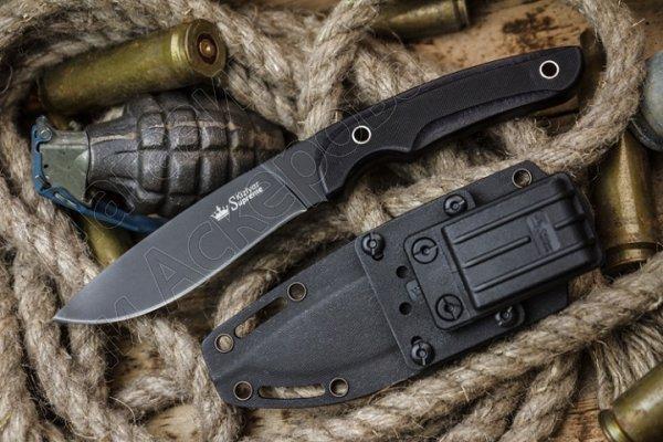 Нож Savage Kizlyar Supreme (сталь AUS-8 BT, рукоять G10)
