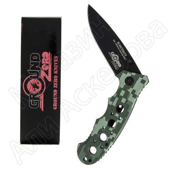 Складной нож Security (сталь 8Cr13MoV, рукоять дюралюминий)