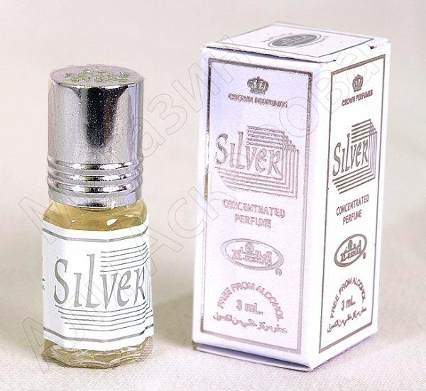 """Масляные духи-миски """"Silver"""" коллекции """"Al Rehab"""""""