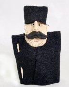"""Подарочная статуэтка ручной работы """"Чабан в бурке"""" обожженная глина"""