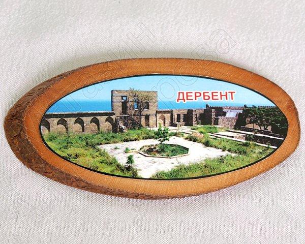 """Магнитик деревянный ручной работы """"Дербент"""""""