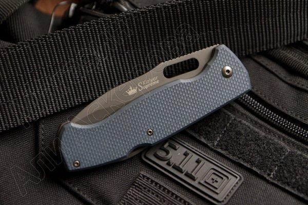 Складной нож Ute (сталь 440C SW, рукоять G10, Grey)