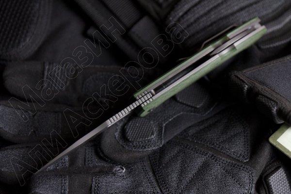 Складной нож Ute (сталь 440C SW, рукоять G10)