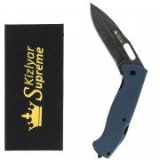 """Складной нож """"Ute"""" (сталь - 440C StoneWash, рукоять - G10, Grey)"""