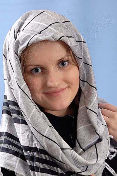 """Стильная арабская арафатка (куфия) премиум качества """"Этибар"""""""