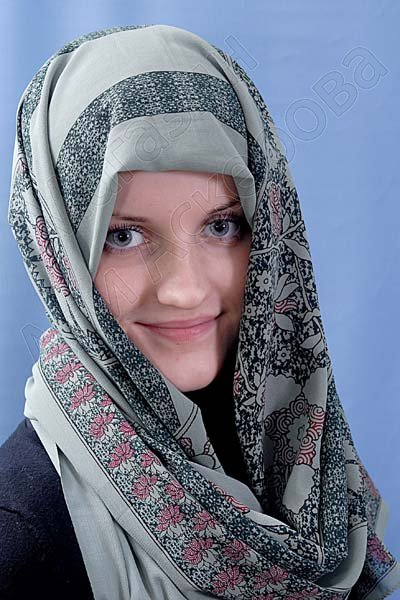 """Арабский шелковый палантин премиум качества """"Краса Востока"""""""