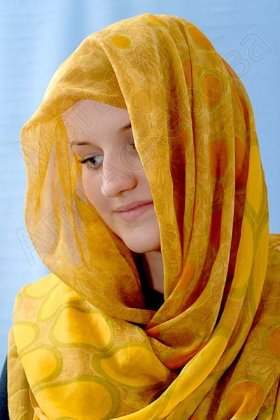 """Арабский шифоновый палантин премиум качества """"Лучик солнца"""""""