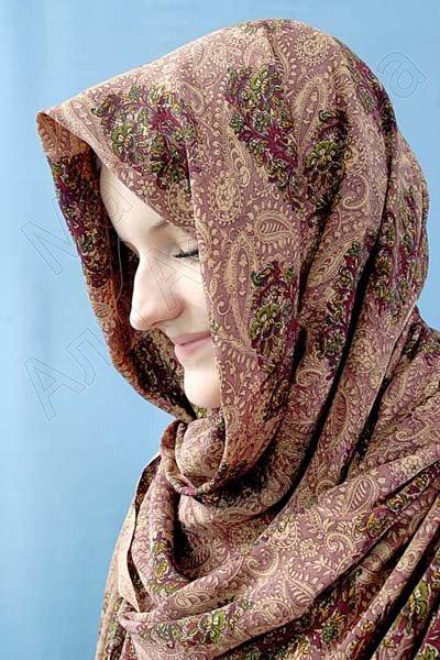 """Арабский шелковый шарф премиум качества """"Абабиль"""""""