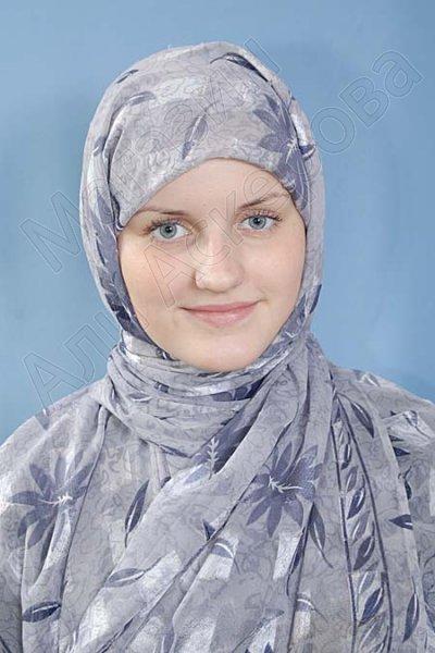 """Мусульманский акриловый шарф премиум качества """"Верность"""""""