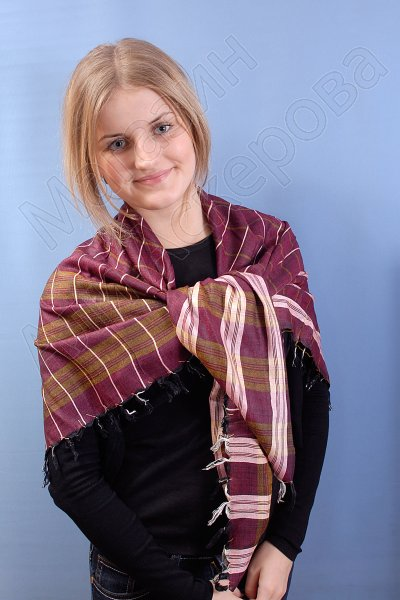 """Стильная арабская арафатка (куфия) премиум качества """"Заман"""""""