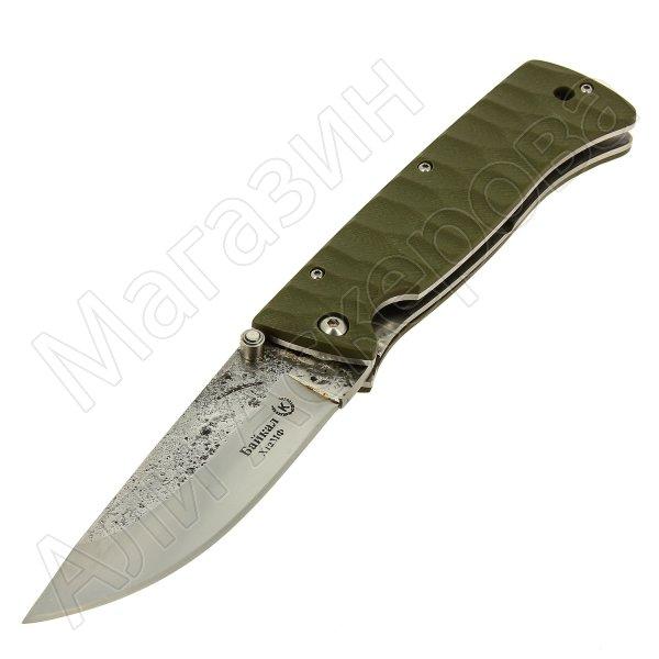 Кизлярский нож складной Байкал (сталь Х12МФ, рукоять G10)